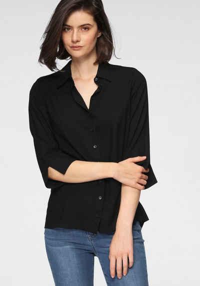 OTTO products Klassische Bluse nachhaltig aus weicher LENZING™ ECOVERO™ Viskose