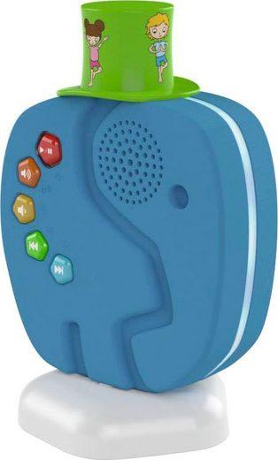 TechniSat Technifant Audioplayer Lautsprecher (Bluetooth, für Kinder, mit Nachtlicht)