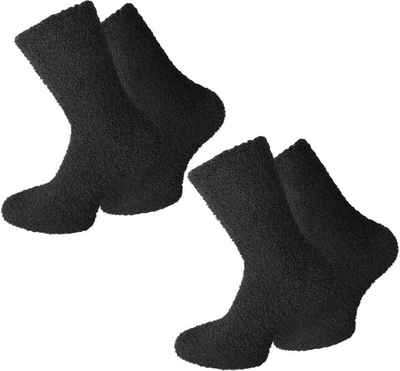 normani Kuschelsocken »2 Paar Kuschel-Socken für Herren« (2 Paar) weicher Gummibund