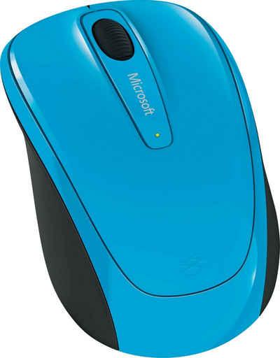 Microsoft »Wireless Mobile Mouse 3500 Cyan Blue« Maus (RF Wireless)