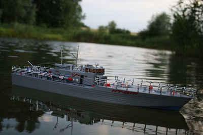 BruKa RC-Boot »RC Torpedoboot SEA PATROL ferngesteuertes Schiff Boot Kriegsschiff Marine RTR«