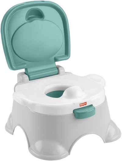 Fisher-Price® Töpfchen »3in1«, mit Trainingstoilettenring und Fußbank