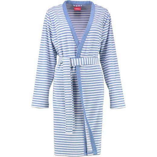 Damenbademantel, s.Oliver, Kimono Form