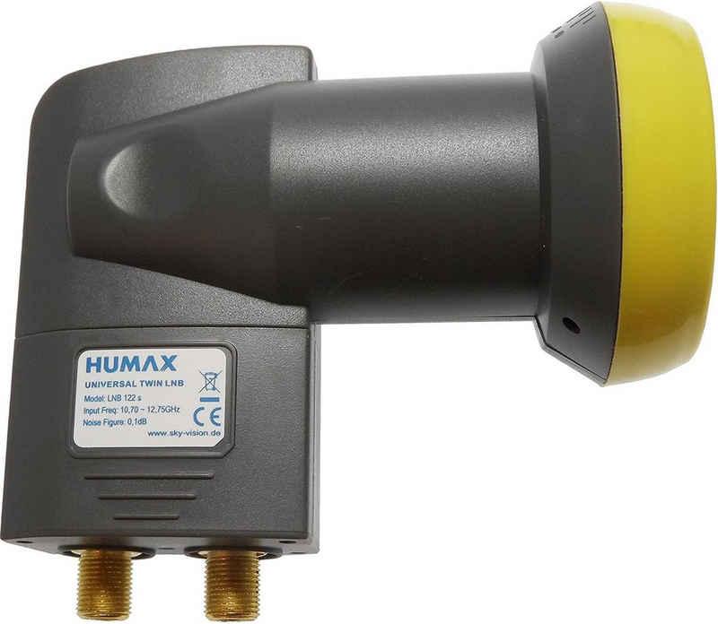 Humax »HUMAX LNB 122 Gold Twin Universal LNB« Universal-Twin-LNB