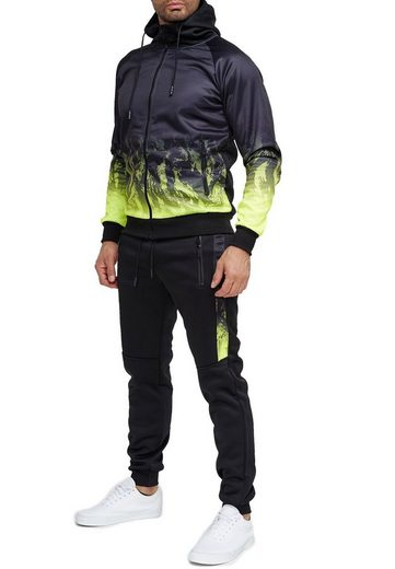 Egomaxx Trainingsanzug »3583«, Herren Slim Fit Trainingsanzug Casual Basic Streetwear Sportanzug