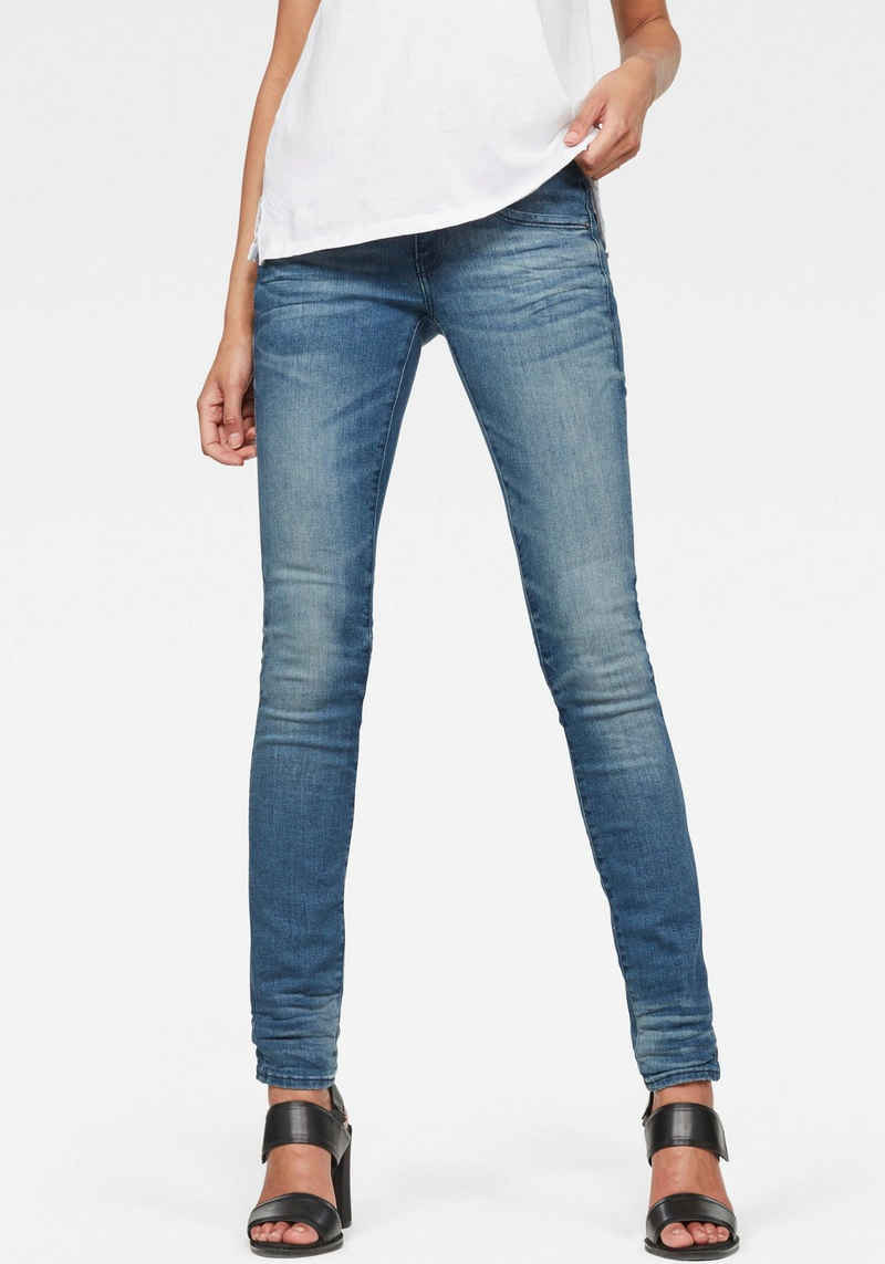 G-Star RAW Skinny-fit-Jeans »Lynn Mid Waist Skinny« moderne Version des klassischen 5-Pocket-Designs