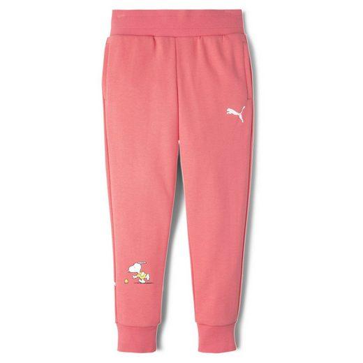 PUMA Jogginghose »PUMA x PEANUTS Kinder Sweatpants«