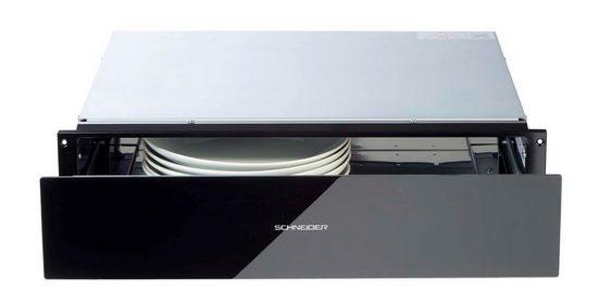 Schneider Einbau-Wärmeschublade Schneider Wärmeschublade WHSG-22 schwarz Warmhalteschublade 60 cm