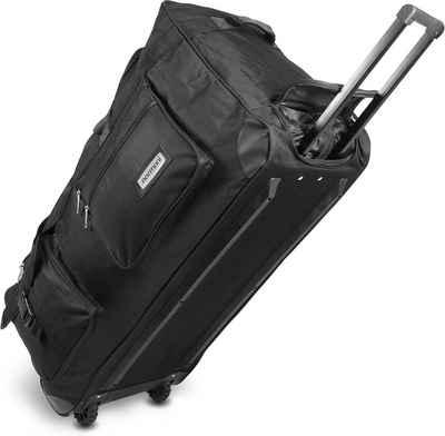 normani Reisetasche »Reisetasche mit 2 Rädern Jumbus 100«, Trolley mit leichtläufigen Rollen