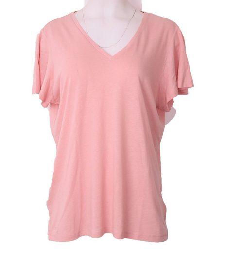 Lauren Ralph Lauren Shirttop »LAUREN RAPLH LAUREN Sommer-Shirt modisches Damen Freizeit-Shirt aus leichtem Stoff Strand-Shirt Rosa«