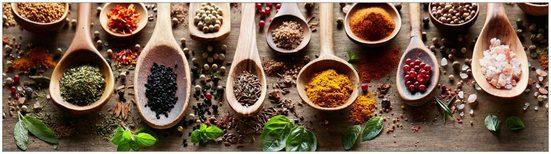 MYSPOTTI Küchenrückwand »mySPOTTIfixy Spicy Kitchen«, selbstklebende und flexible Küchenrückwand-Folie