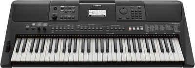 Yamaha Keyboard »PSR-E463RML«, mit USB Audio Recorder; inkl. 1 Online Stunde Keyboardunterricht der Yamaha Musikschule