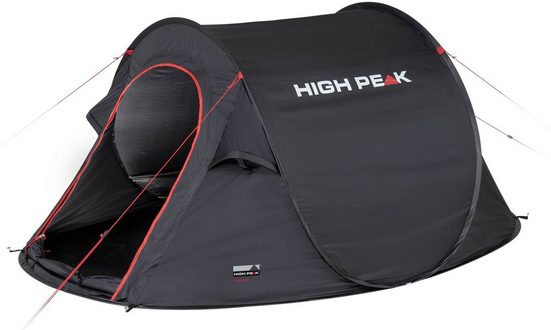 High Peak Wurfzelt »Pop up Zelt Vision 3«, Personen: 2 (mit Transporttasche)