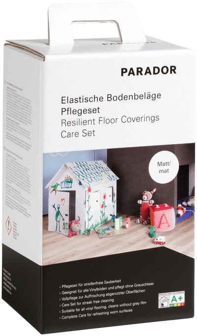 PARADOR Bodenpflegemittel (Set), für elastische Bodenbeläge, matt