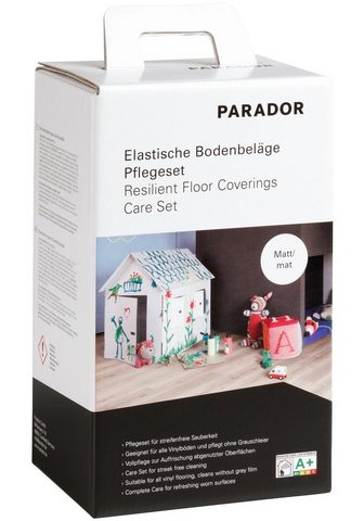 PARADOR Bodenpflegemittel (Set) dėl elastische...