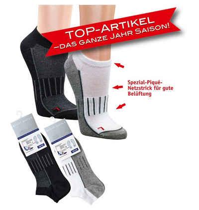 Socks 4 Fun Sportsocken »Sneaker Sport Socks Wandersocken 3er Bündel« (3 Paar)
