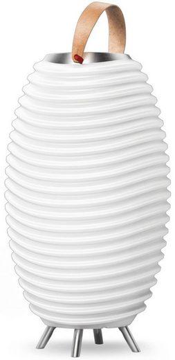 kooduu LED Stehlampe »Synergy S«, 3-in 1 LED Designer-Lampe, Bluetooth Lautsprecher, Weinkühler/Vase mit Akku