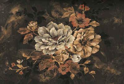 Architects Paper Fototapete »Atelier 47 Flowers Artwork 2«, glatt, floral, (4 St)
