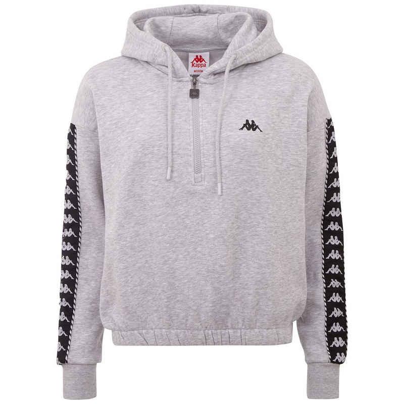 Kappa Sweatshirt »IVAINE« in modischer Cropped-Länge