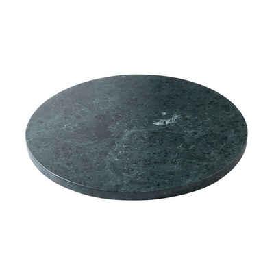 BUTLERS Servierplatte »MARBLE Marmor-Platte Ø30cm«, Marmor