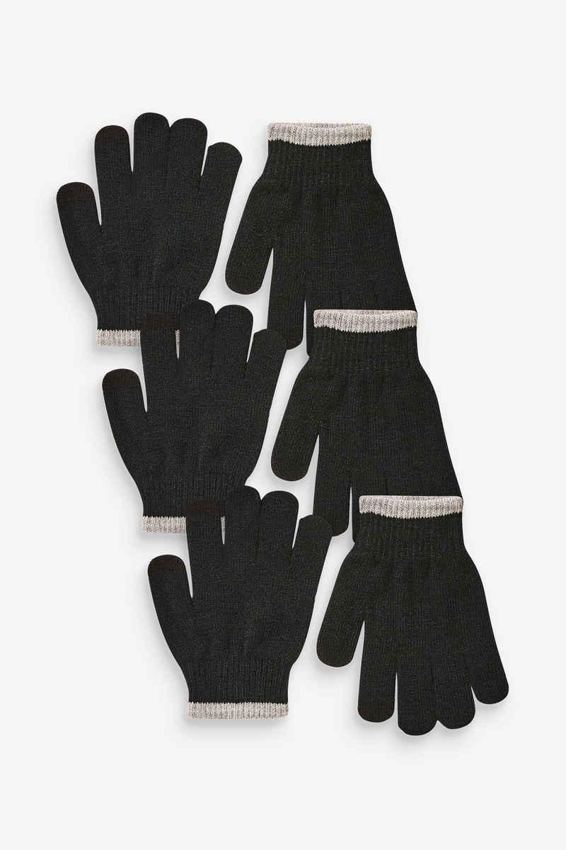 Next Strickhandschuhe »Strickhandschuhe, 3er-Pack«