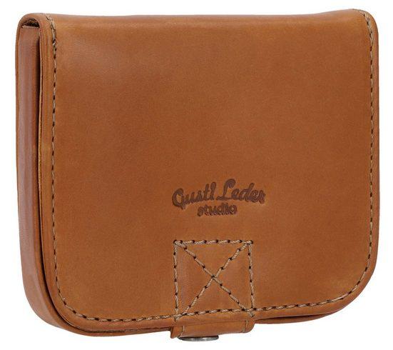 Gusti Leder Geldbörse »Carter« (1-tlg), Portemonnaie Brieftasche Geldbeutel
