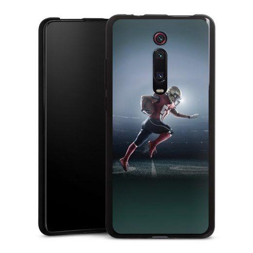 DeinDesign Handyhülle »Football Stadium« Xiaomi Mi 9T, Hülle Fanartikel American Football Fußballer