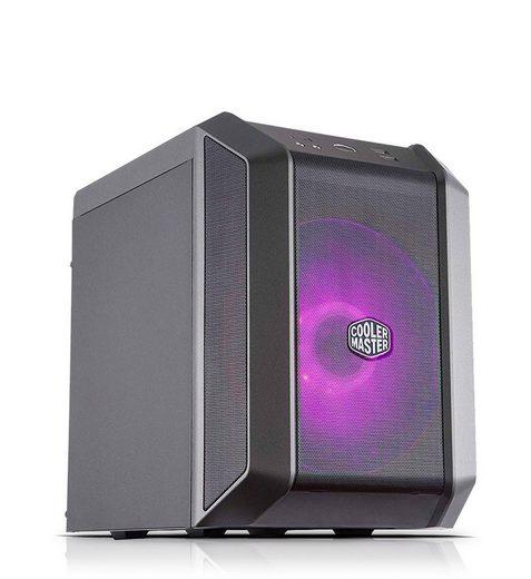 Kiebel Mini Cube Gaming-PC (AMD Ryzen 5 AMD Ryzen 5 Pro 3350G, Radeon, 16 GB RAM, 512 GB SSD, Luftkühlung, RGB-Beleuchtung)