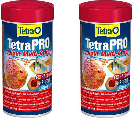 Tetra Fischfutter »Pro Colour«, Flockenfutter 2x250 ml