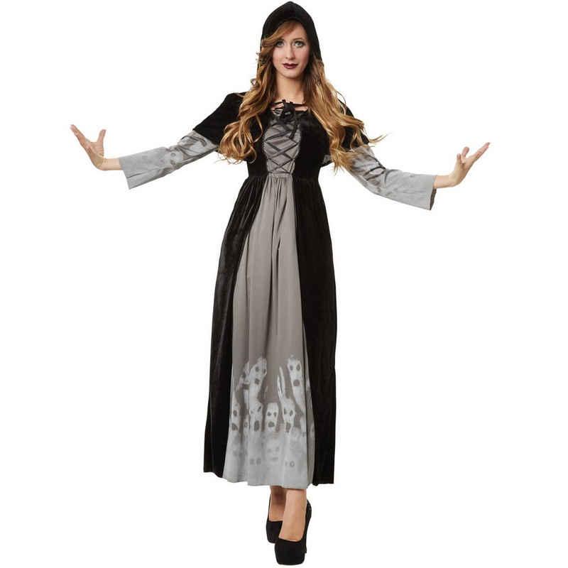 dressforfun Hexen-Kostüm »Frauenkostüm Machtvolle Magierin«