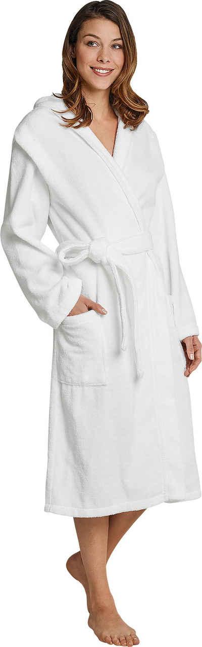 Damenbademantel »128545«, Schiesser, in weicher, gemütlicher Frottee-Qualität