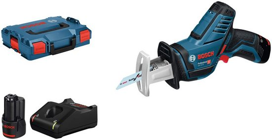 Bosch Professional Powertools Säbelsäge »GSA 12V-14«, Set, 12 V, mit Akku und Ladegerät