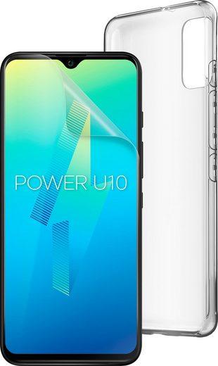 WIKO Power U10 inkl. Soft Case & Schutzfolie Smartphone (17,32 cm/6,82 Zoll, 32 GB Speicherplatz, 13 MP Kamera, 5000mAh)