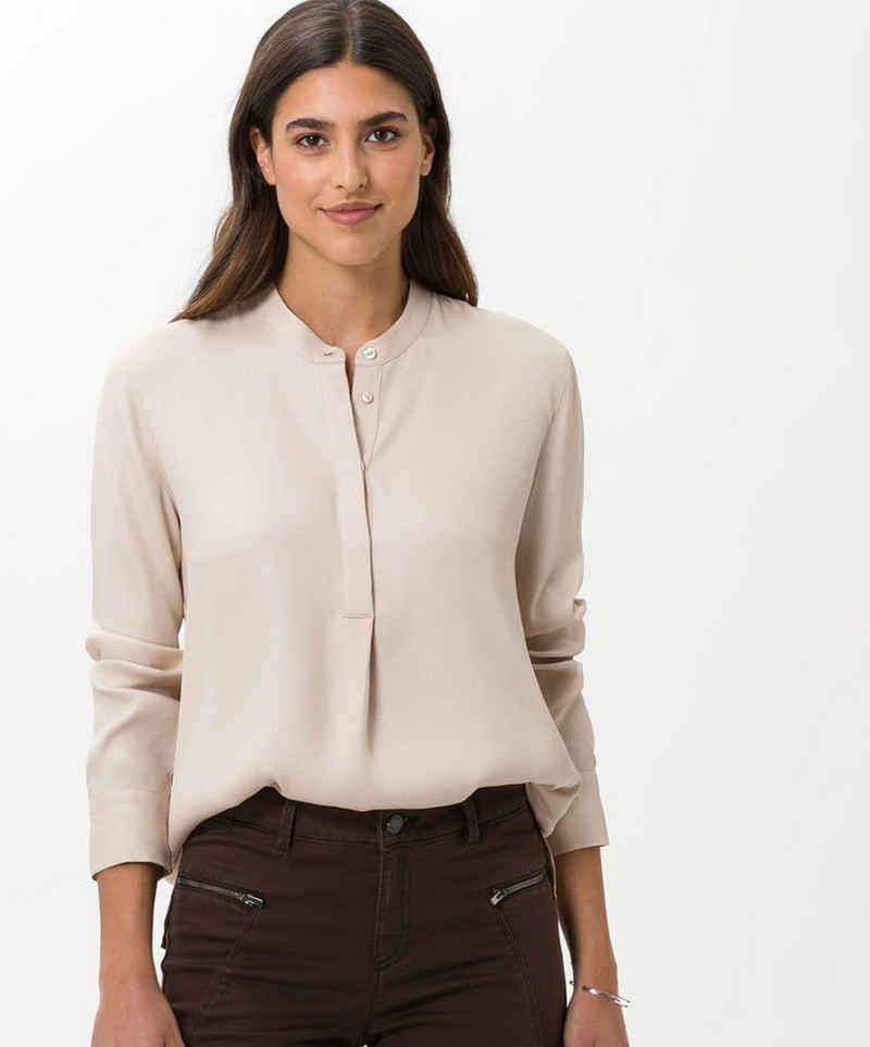 Brax Klassische Bluse »Style VELVET«