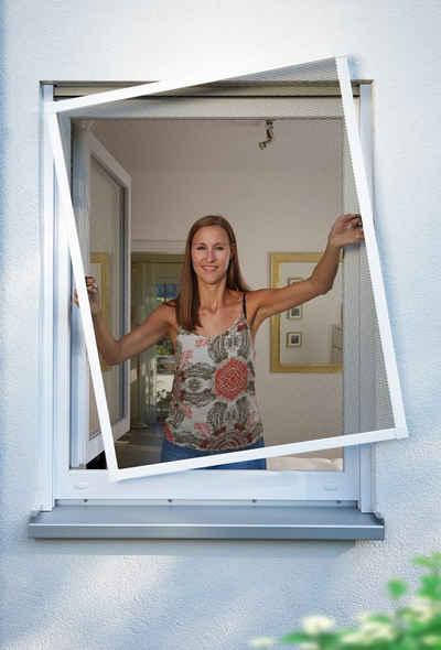 SCHELLENBERG Insektenschutz-Fenster »PREMIUM«, BxH: 140x150 cm, weiß