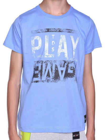 BEZLIT T-Shirt »Jungen T-Shirt mit Motiv Druck & Sommer Farben« (1-tlg) T-Shirt
