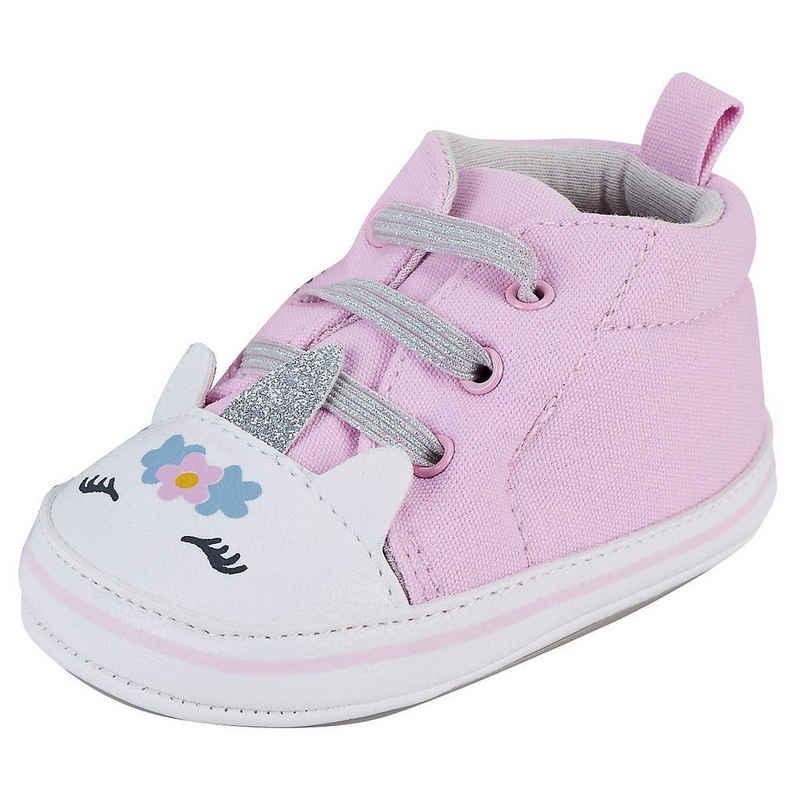 Sterntaler® »Baby Krabbelschuhe für Mädchen« Schnürschuh