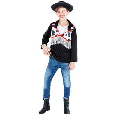 tectake Cowboy-Kostüm »Jungenkostüm Cowboy Hemd Sheriff«