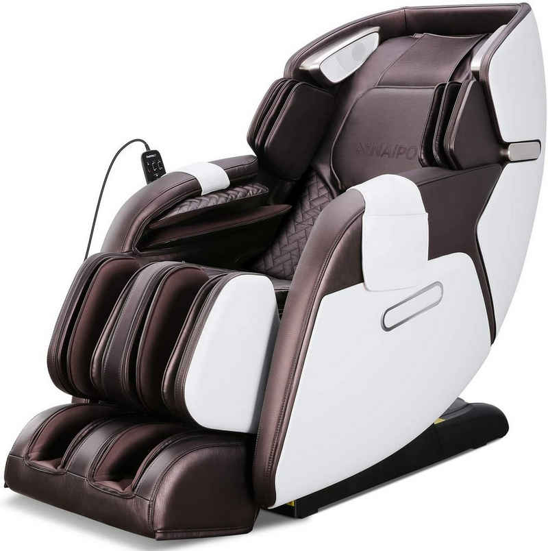 NAIPO Massagesessel »MGC-5866«, Heizung, Schwerelosigkeit, SL Track, Klopfen, Kneten, Luft-Massage-System, Bluetooth 3D Surround Sound Musik, für Zuhause und Büro