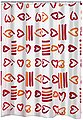 Ridder Duschvorhang »Lovely« Breite 180 cm, ca. 180 x 200 cm, Bild 1