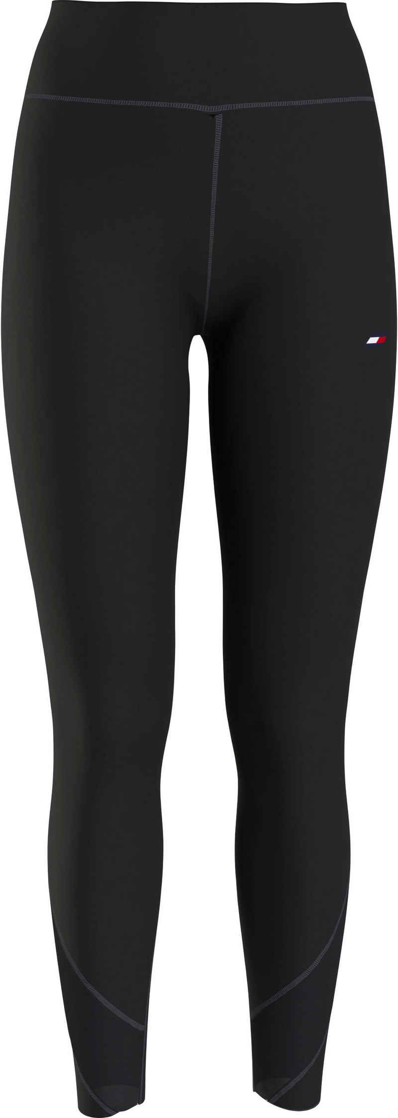 Tommy Hilfiger Sport 3/4-Leggings »HW MESH MIX LEGGING 7/8« mit Tommy Hilfiger Sport Logo-Flag auf dem Bein