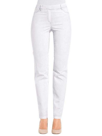 Ascari Jeans mit imitierten Reißverschluss