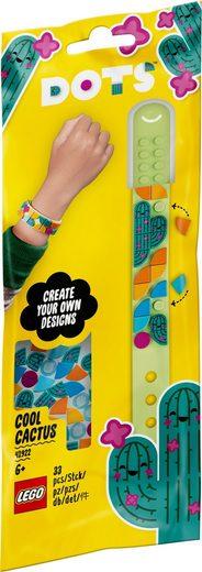 LEGO® Konstruktionsspielsteine »Kaktus Armband (41922), LEGO® DOTS«, (33 St), Made in Europe