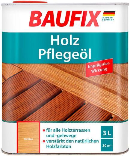 Baufix Teakholzöl »Farblos«, 3 Liter, transparent