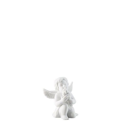 Rosenthal Engelfigur »Engel klein Weiss matt Engel mit Blumen 6 cm« (1 Stück)
