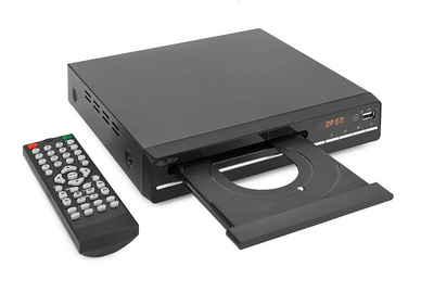Reflexion »DVD362« DVD-Player (schlanker DVD / CD-Player mit HDMI, USB und SCART, LCD-Display, Fernbedienung, schwarz)