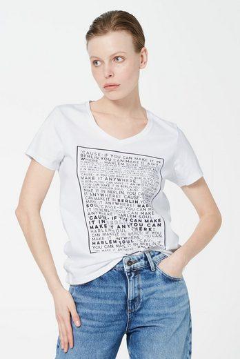 Harlem Soul T-Shirt mit V-Ausschnitt