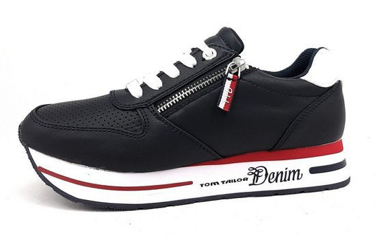 TOM TAILOR »Sneaker« Schnürschuh