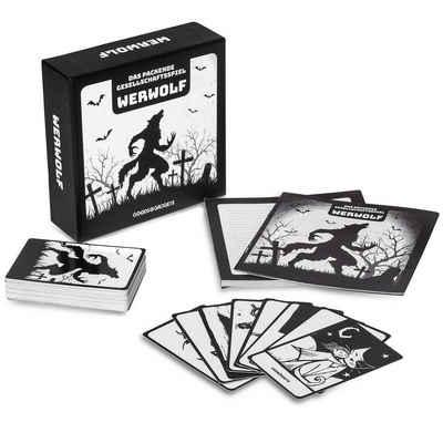 Goods+Gadgets Spiel, Original Werwolf Kartenspiel »Party-Rollenspiel«, Gesellschaftsspiel