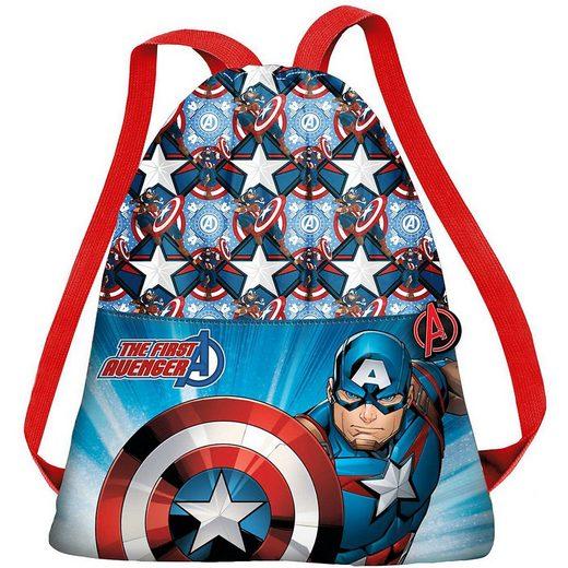 The AVENGERS Turnbeutel »Sportbeutel Avengers Captain America«